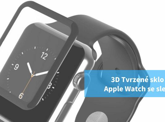 3D Tvrzené sklo Apple Watch