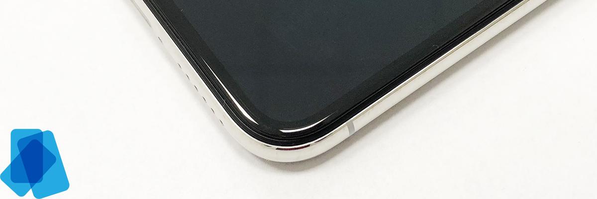 3D Tvrzené sklo na iPhone X (P) Vylepšené - 3