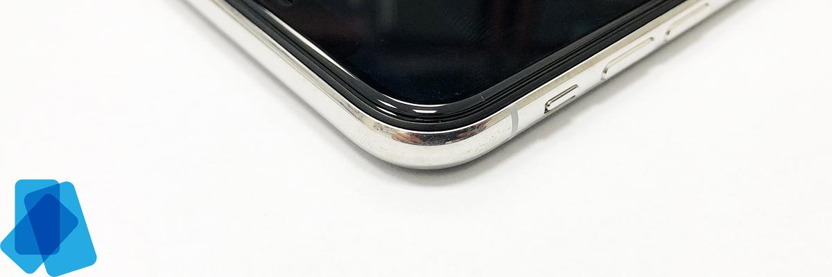 3D Tvrzené sklo na iPhone X (P) Vylepšené