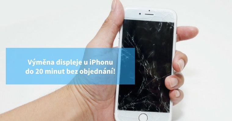 Výměna displeje iPhonu Praha