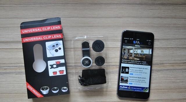 1b512324bb9 Tentokrát jsme si pro vás připravili recenzi na sadu objektivů Universal  Clip Lens 3 v 1