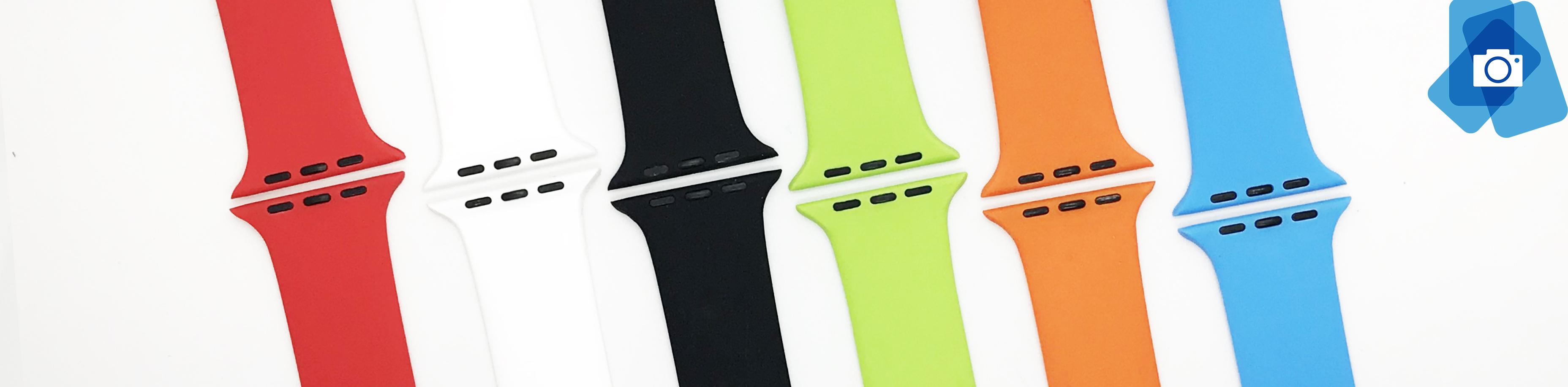 Gumové řemínky pro Apple Watch