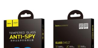 Hoco 3D Tvrzená skla na iPhone