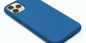 Silikonový kryt na iPhone 11 Pro - Černý - 1