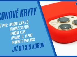 silikonové obaly pro iPhone