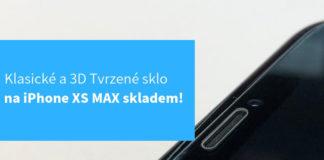 Tvrzené sklo na iPhone XS MAX BLOG