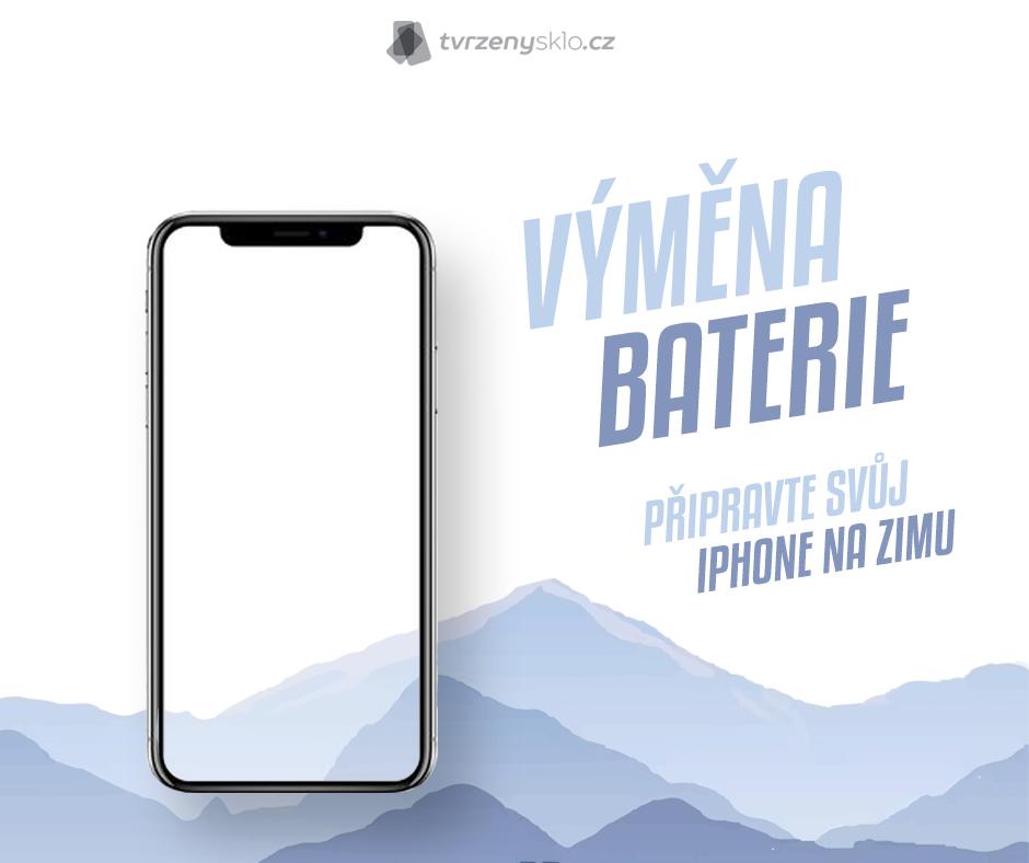 Výměna baterie v iPhonu Tvrzenýsklo - 2