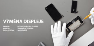 Výměna displeje iPhone Servis Praha