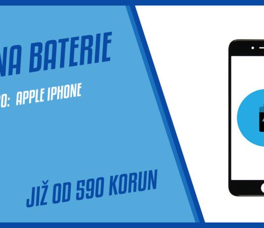Vymena baterie iPhone Praha