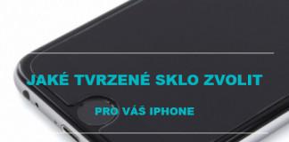 Tvrzené sklo na iPhone