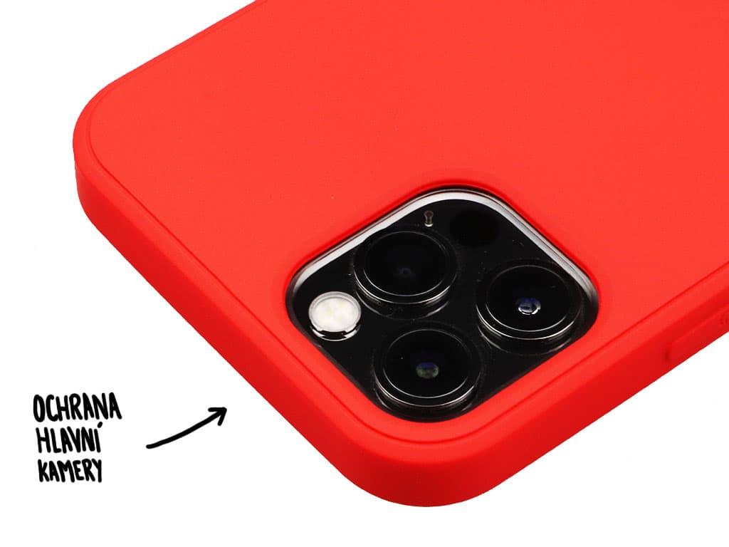 Silikonový obal na iPhone 12, iPhone 12 Pro – Černý – 5