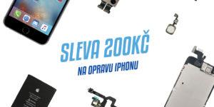 Sleva na opravu iPhonu - Tvrzenýsklo.cz