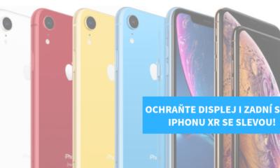 Tvrzene sklo na iPhone XR